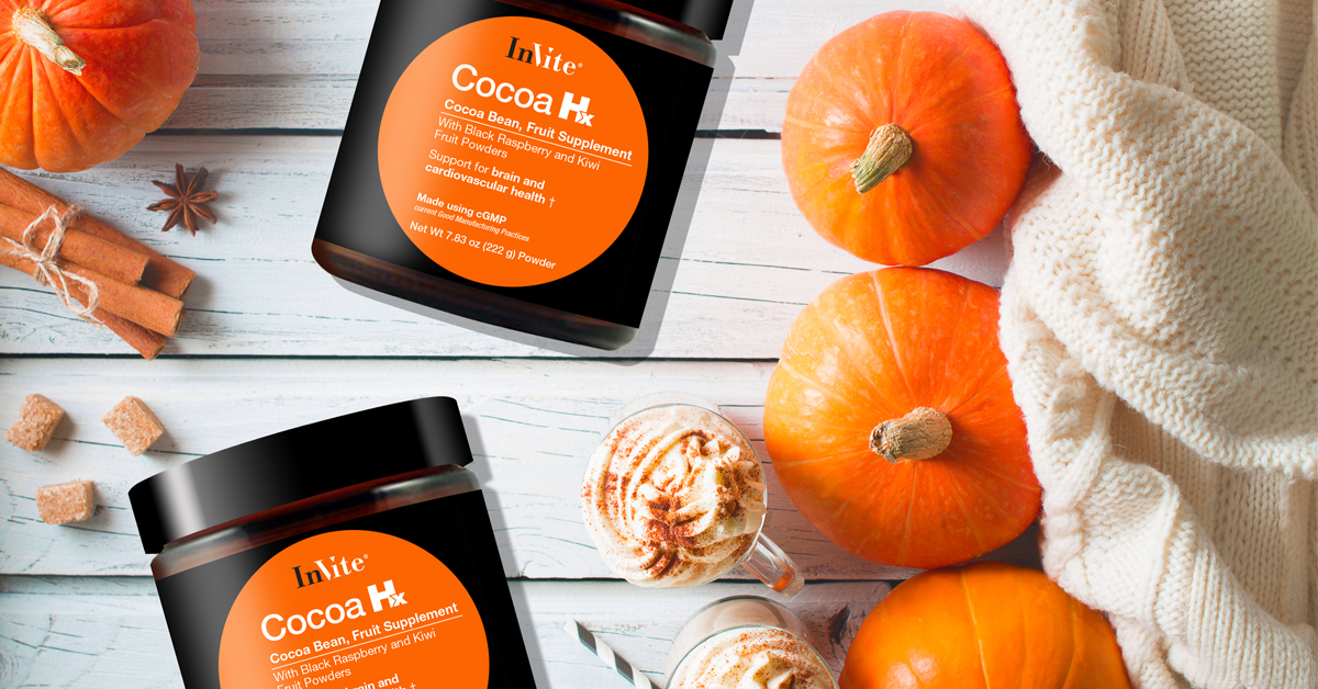 Pumpkin Spice Hot Chocolate with Cocoa Hx®
