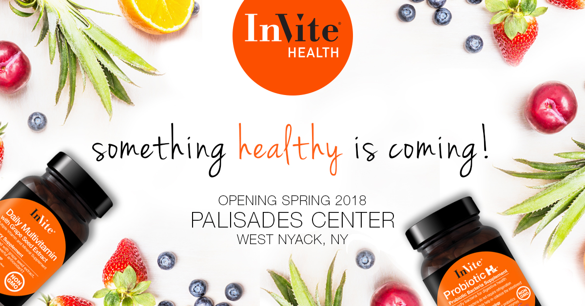 New InVite Health Location Coming Soon! Palisades Center Mall