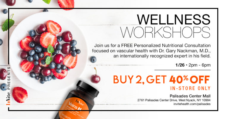 Wellness Workshops with Vascular Expert Dr. Nackman, MD – Palisades Center