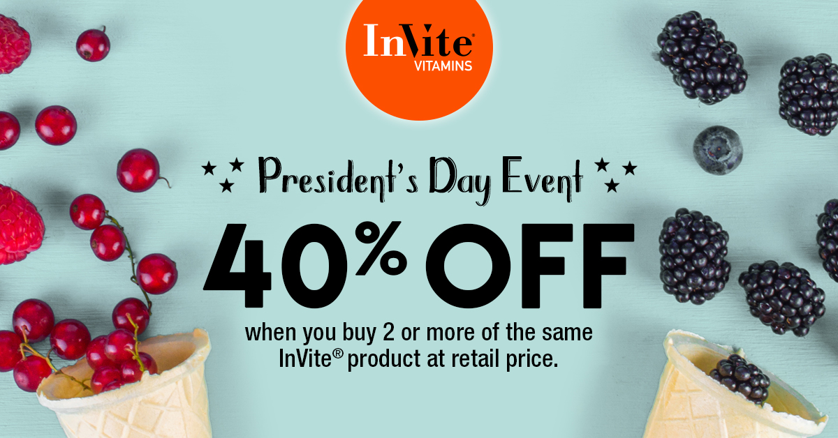 40% Off President's Day Sale Has Begun!