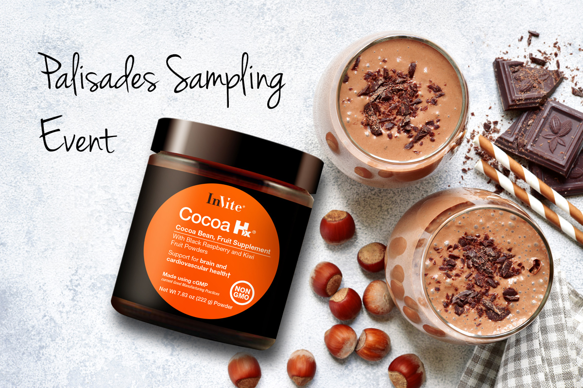 Cocoa Hx® Sampling at the Palisades Center