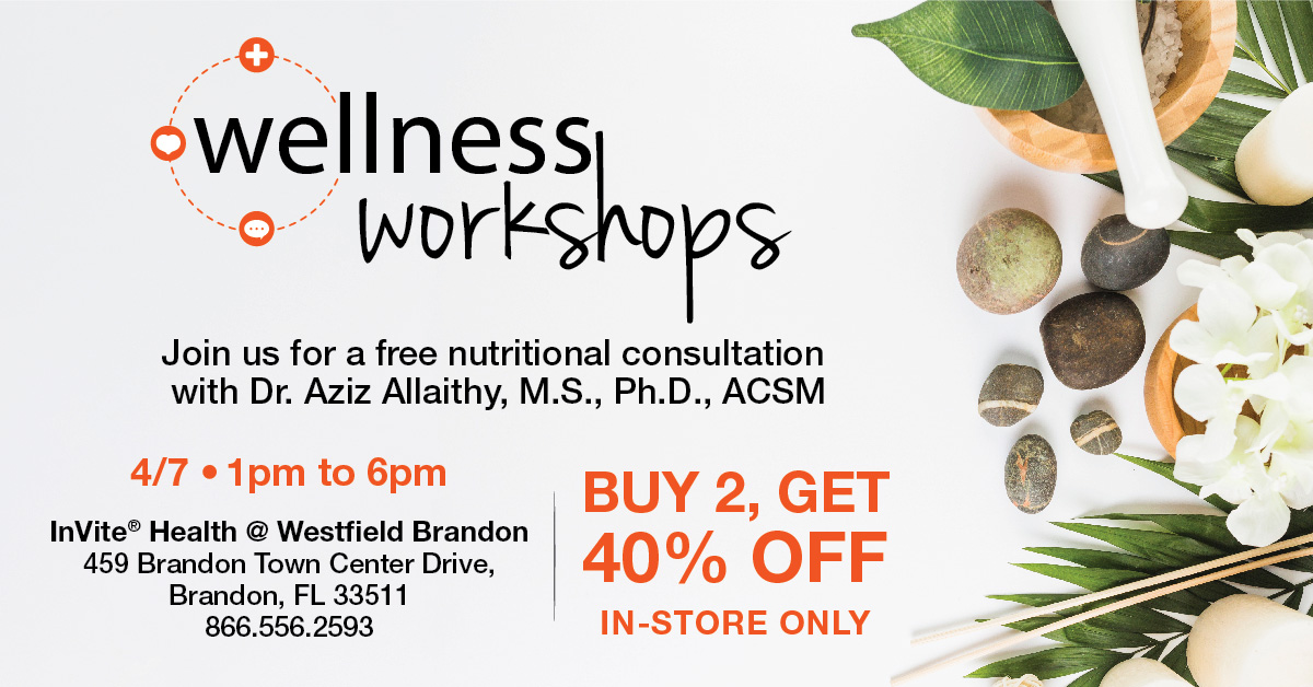 Free Nutritional Consultation with Dr. Aziz Allaithy in Tampa, FL