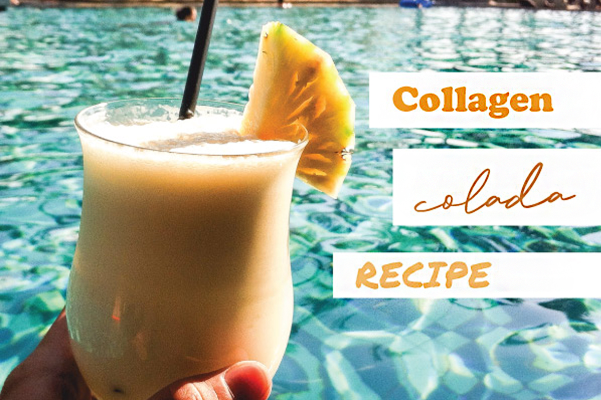 Try Our Collagen Colada for The Perfect Summer Treat