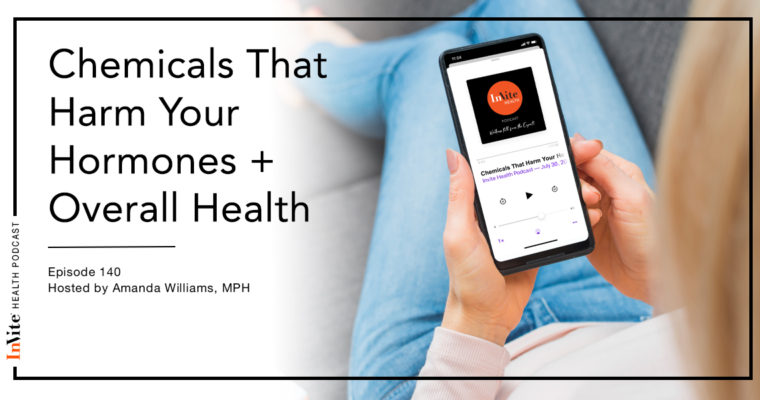 Chemicals That Harm Your Hormones & Health – Invite Health Podcast, Episode 140