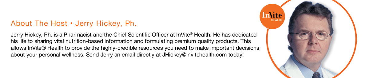 jerry hickey invite health podcast