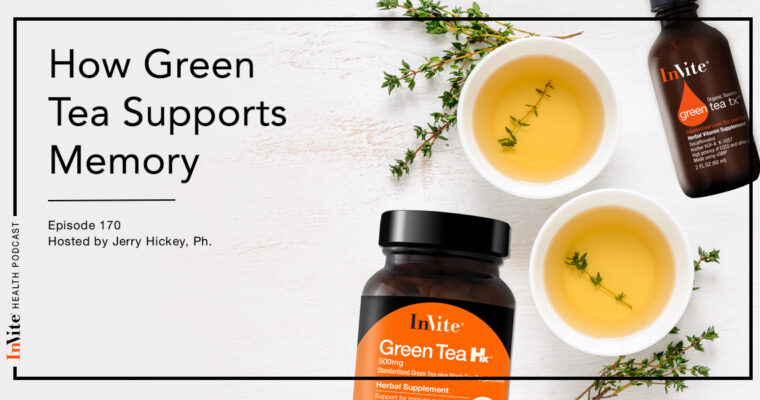 How Green Tea Supports Memory – Invite Health Podcast, Episode 170