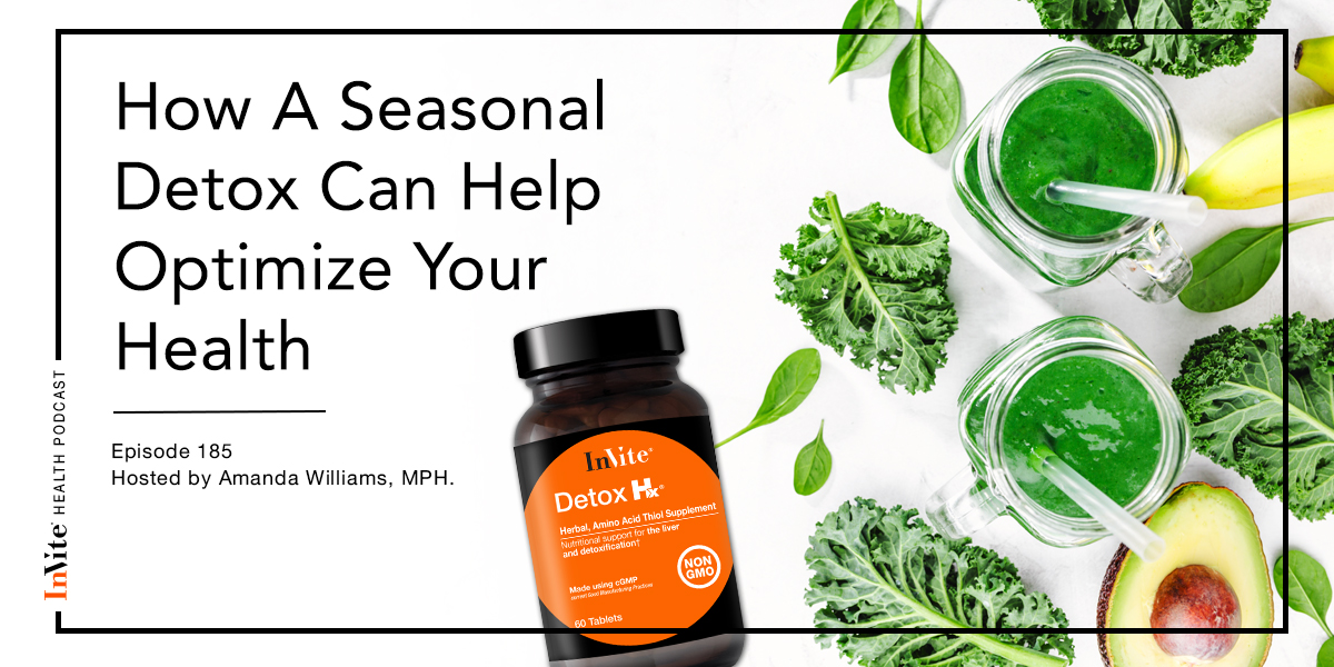 How A Seasonal Detox Can Help Optimize Your Health – InVite Health Podcast, Episode 185