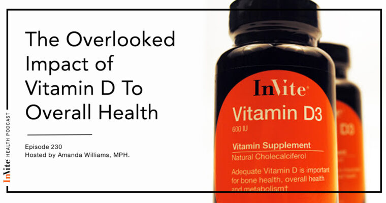 The Overlooked Impact of Vitamin D To Overall Health – InVite Health Podcast, Episode 230