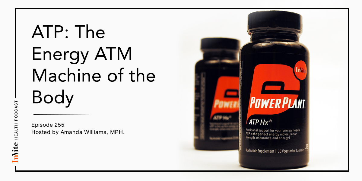 ATP: The Energy ATM Machine of the Body – InVite Health Podcast, Episode 255