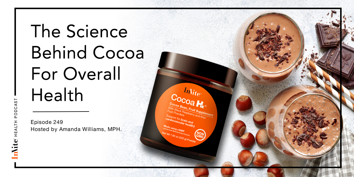 The Science Behind Cocoa For Overall Health – InVite Health Podcast, Episode 249