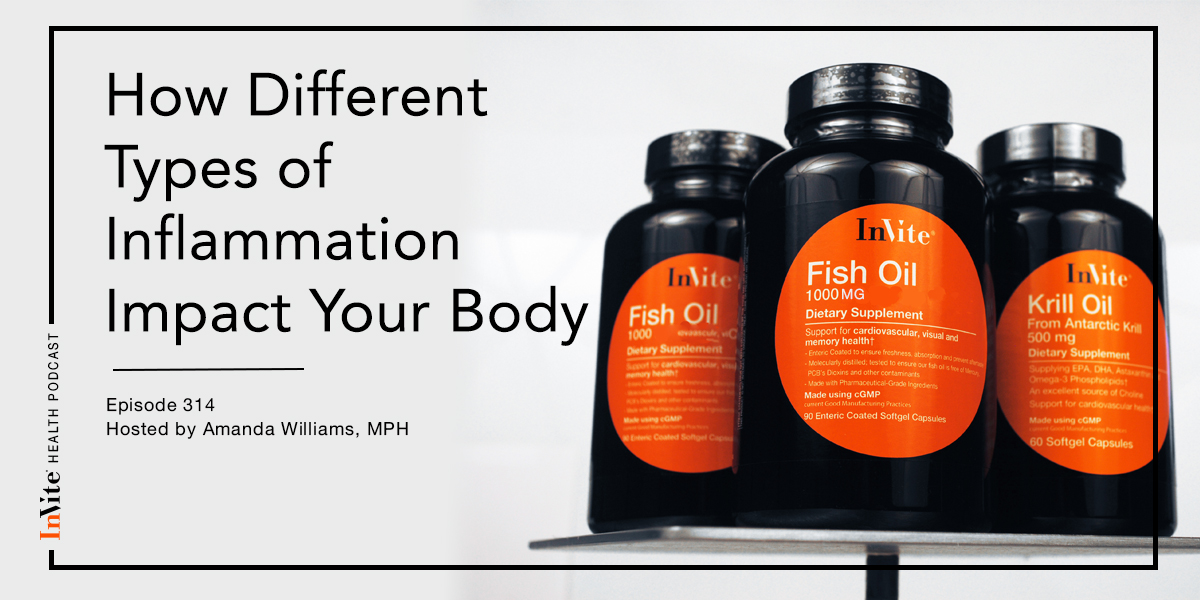 How Different Types of Inflammation Impact Your Body – InVite Health Podcast, Episode 314
