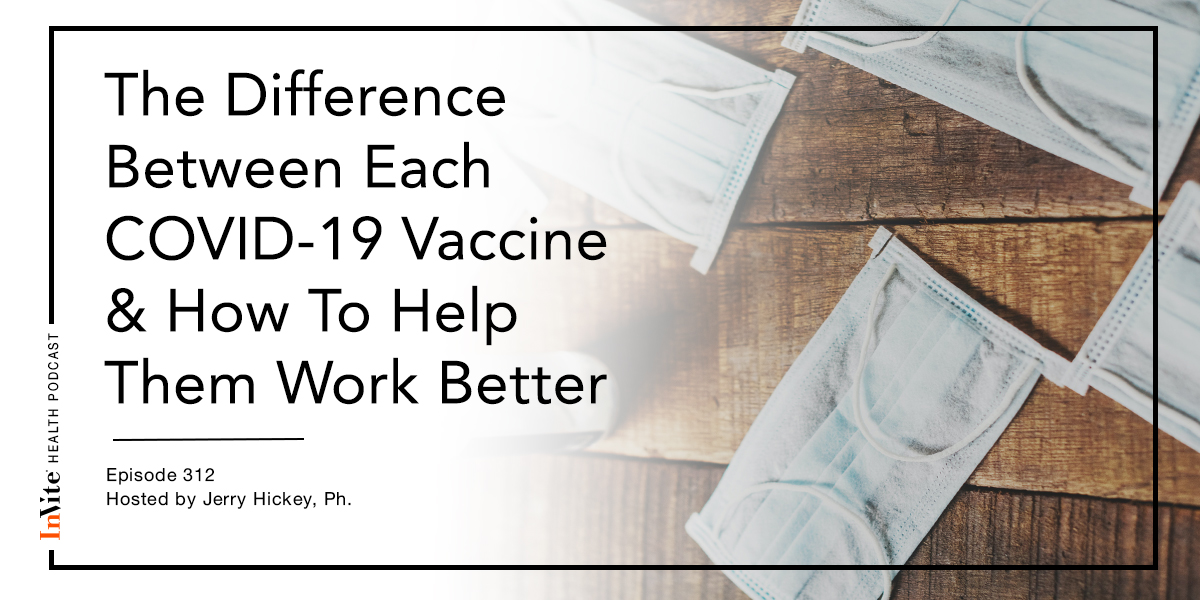 The Difference Between Each COVID-19 Vaccine & How To Help Them Work Better – InVite Health Podcast, Episode 312