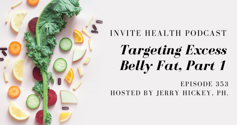 Targeting Excess Belly Fat, Part 1 – InVite Health Podcast, Episode 353