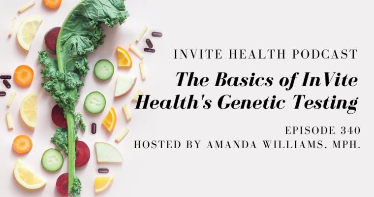 The Basics of InVite Health's Genetic Testing – InVite Health Podcast, Episode 340