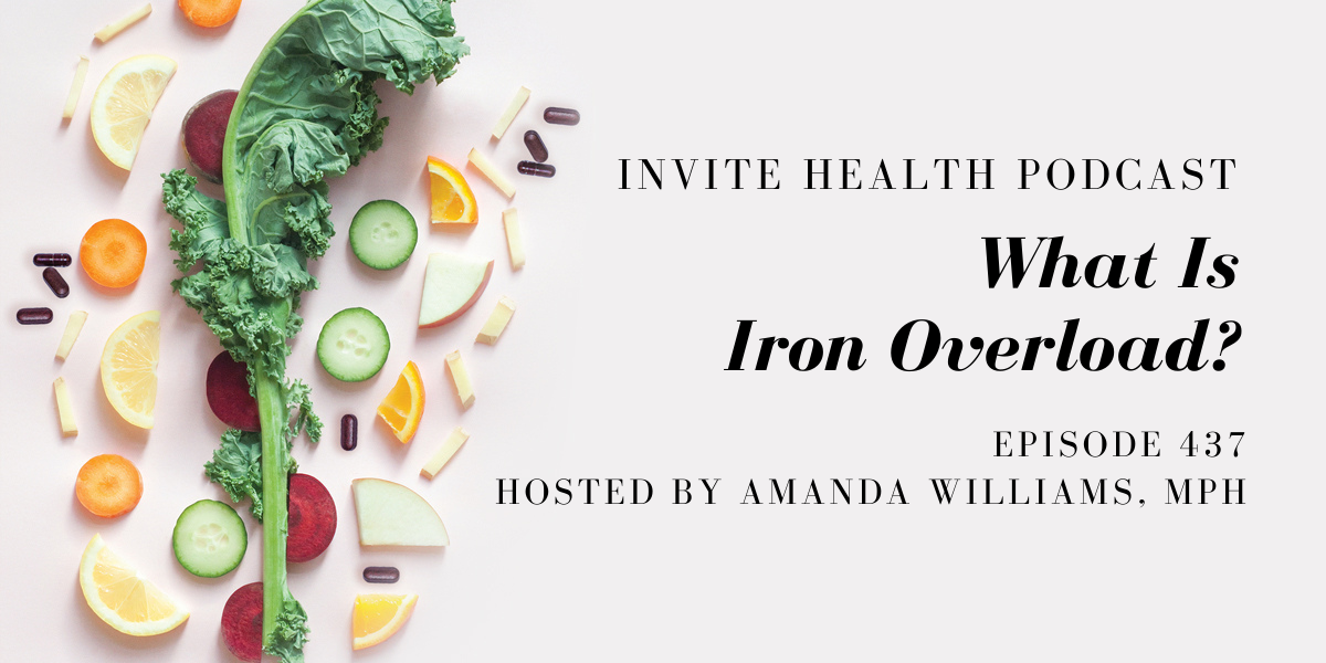 What Is Iron Overload? – InVite Health Podcast, Episode 437